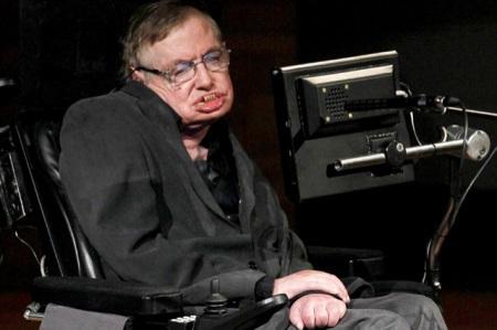 Stephen Hawking brit elméleti fizikus