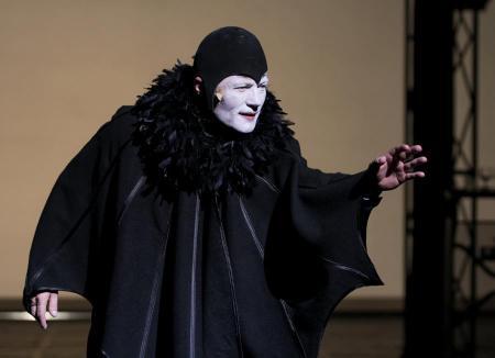 Stohl András a Mephisto című darabban a Nemzeti Színházban