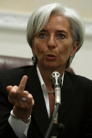 Christine Lagarde, a Nemzetközi Valutaalap (IMF) főigazgatójának