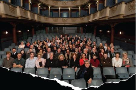 Az Újszínház társulata