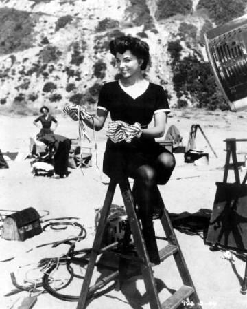 Joan Collins brit színésznő az 1950-s években