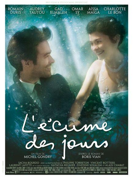 A Tajtékos napok című film francia plakátja