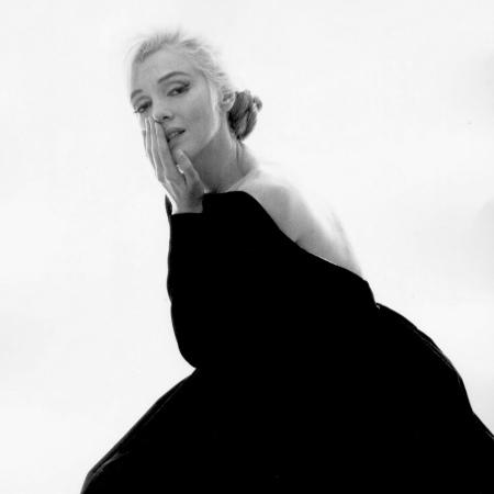 Marilyn Monroe egyik utolsó fotója (Fotó: Bert Stern, 1962)