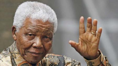 Nelson Mandela korábbi dél-afrikai elnök