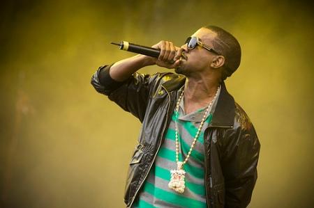 Kanye West Grammy-díjas amerikai rapper