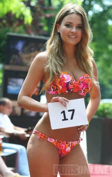 Kárpáti Rebeka 18 éves tanuló, Miss Universe Hungary
