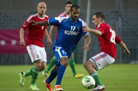 Barátságos mérkőzést játszott egymással Magyarország és Kuvait