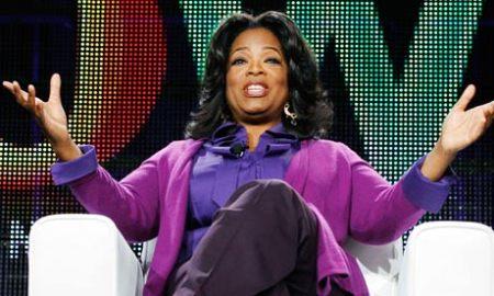 Oprah Winfrey amerikai talkshow-háziasszony