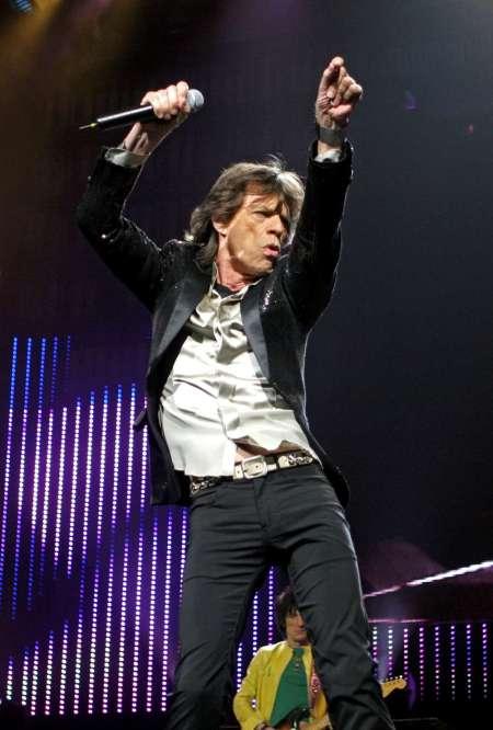 Mick Jagger brit rocksztár
