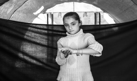 A megerőszakolt Mariam 15 éves keresztény szíriai kislány Qusair városából