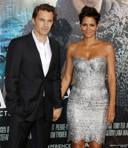 Olivier Martinez francia színész és felesége, Halle Berry Oscar-díjas amerikai színésznő