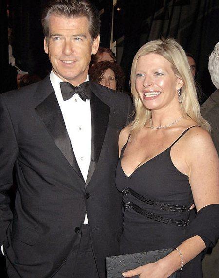 Pierce Brosnan ír-amerikai filmsztár és néhai lánya, Charlotte Brosnan