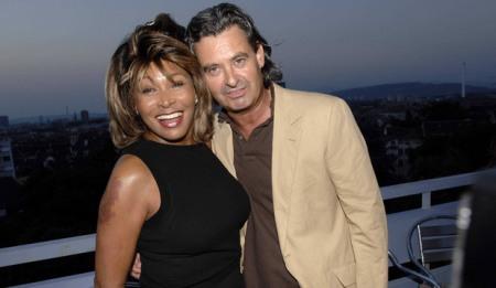 Tina Turner amerikai énekesnő és férje, Erwin Bach