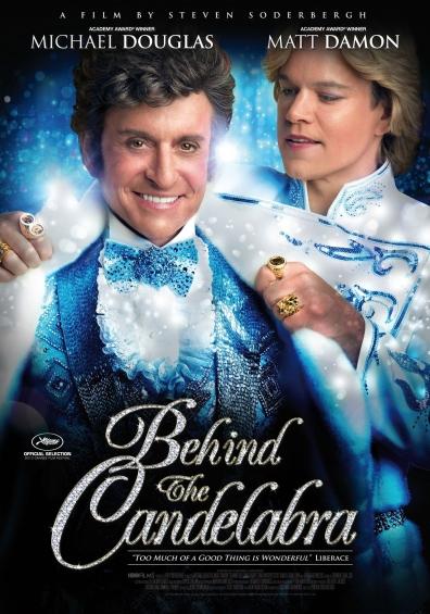 A Túl a csillogáson (Behind the Candellabra) című film plakátja
