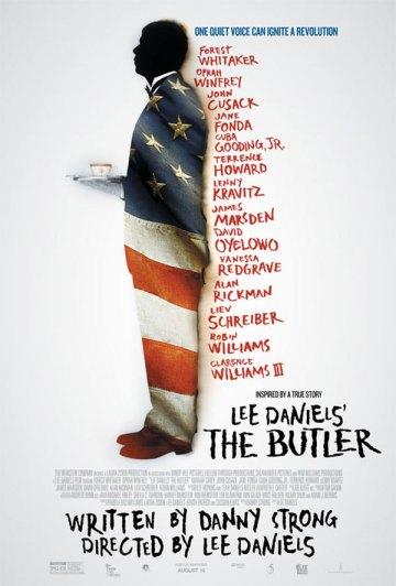 Lee Daniel The Butler című filmjének plakátja