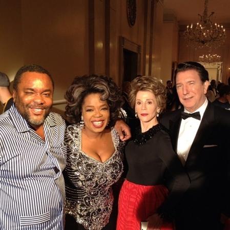 Oprah Winfrey, Jane Fonda és Alan Rickman