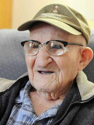Salustiano Sanchez, a világ legidősebb élő férfija (1901-2013)