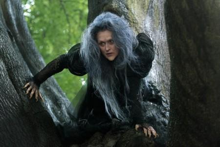 Meryl Streep az Into The Woods című film egyik jelenetében