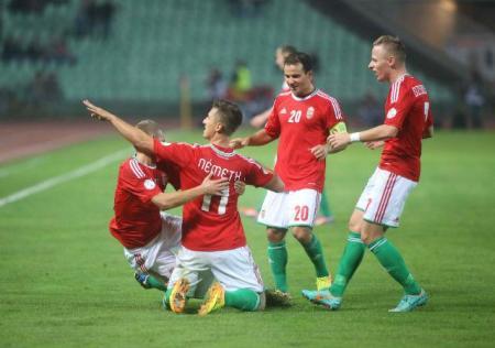 A labdarúgó-világbajnokság európai selejtezőinek D csoportjában vívott Magyarország - Észtország meccs a Puskás Ferenc Stadionban 2013. szeptember 10-én