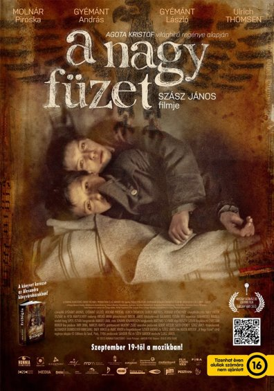 A nagy füzet című film plakátja