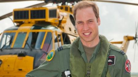 Vilmos brit herceg a királyi légierő, RAF kötelékében