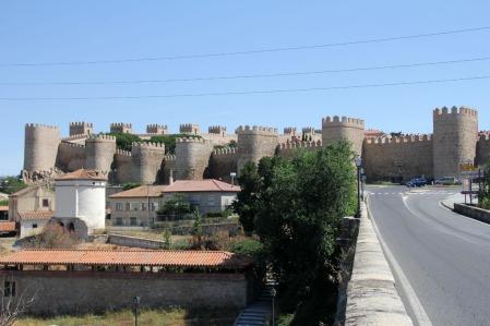 Ávila várfala (Fotó: Mészáros Márton)