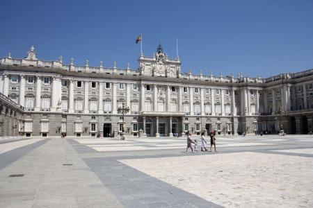 A madridi királyi palota (Fotó: Mészáros Márton)