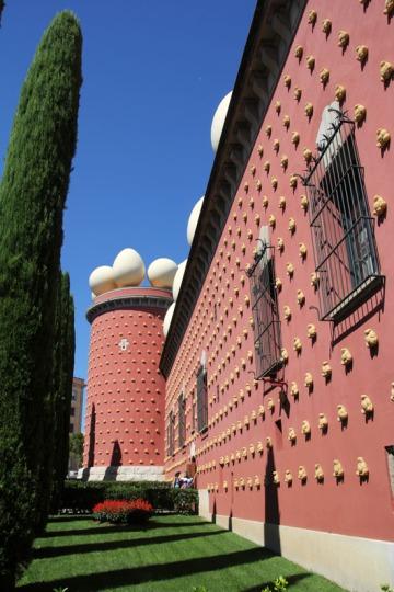 A figueresi Dalí Múzeum (Fotó: Mészáros Márton)