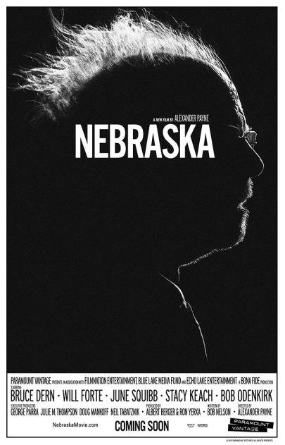 A Nebraska című film plakátja