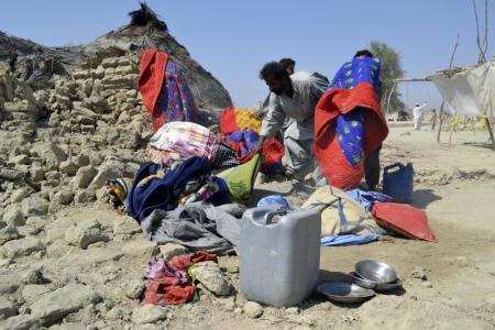 A pakisztáni földrengés áldozatai 2013. szeptember 25-én