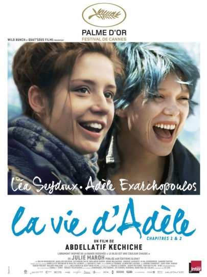 """Az """"Adéle élete"""" (La Vie d'Adèle) című film francia plakátja"""