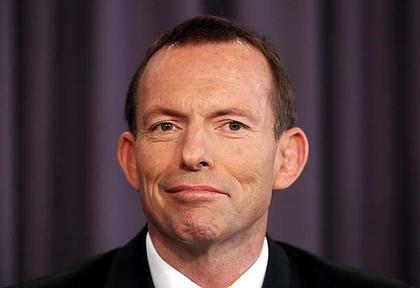 Tony Abbot most megválasztott ausztrál miniszterelnök