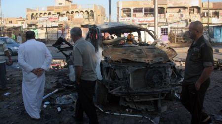 Pokolgépes merényletet hajtottak végre Bagdadban 2013. október 27-én