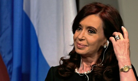 ristina Fernández de Kirchner argentin elnök