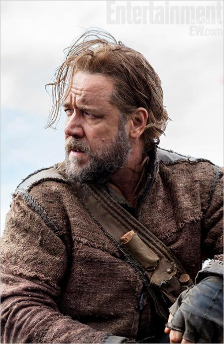 Russel Crowe ausztrál színész Noé szerepében Darren Arrenofsky Noah című filmjében