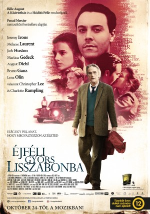 Éjféli gyors Lisszabonba című film magyar posztere