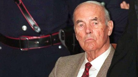 Erich Priebke egykori SS-százados (1913-2013)