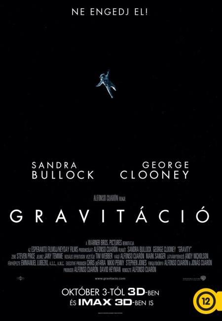 A Gravitáció című film posztere