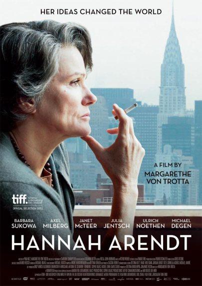 A Hannah Arendt című film plakátja
