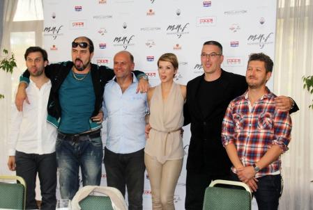 A Megdönteni Hajnal Tímeát című film sajtótájékoztatóján a budapesti Körszállóban 2013. október 1-jén (Fotó: Mészáros Márton)