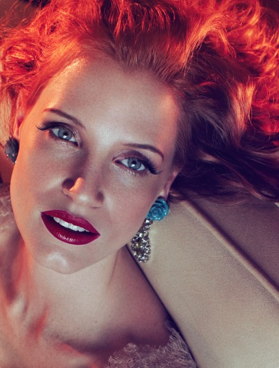 A világ legszexisebb nője: Jessica Chastain