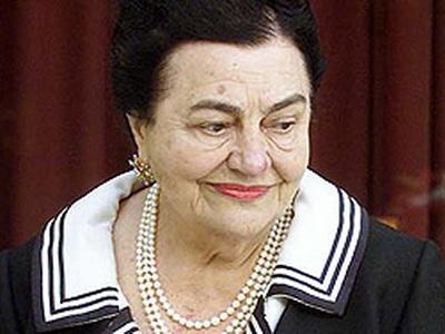 ovanka Broz (1924-2013), Josip Broz Tito egykori jugoszláv kommunista vezető özvegye