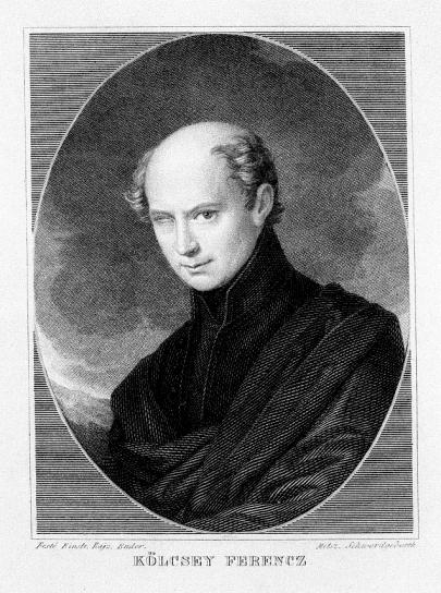 Kölcsey Ferenc költő, a Himnusz szerzője