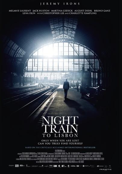 Az éjféli gyors Lisszabonba című film plakátja