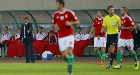 Magyarország - Andorra labdarúgó világbajnoki selejtező mérkőzésen a Puskás Ferenc Stadionban 2013. október 15-én