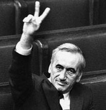 Tadeusz Mazowiecki lengyel miniszterelnök (1927-2013)