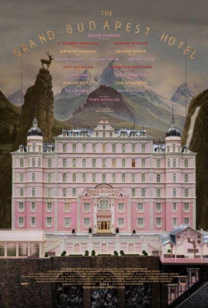 Wes Anderson The Grand Budapest Hotel című filmjének posztere