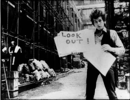 Bob Dylan egy 1967-ben készült videoklipben
