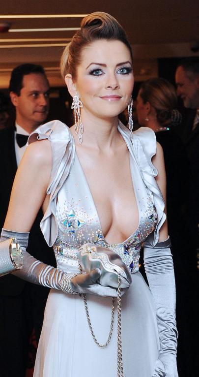Archív kép Eva Rezesová szlovák milliárdosnőről