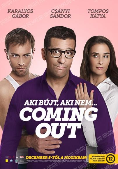 Orosz Dénes Coming out című filmjének posztere